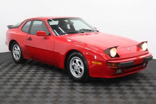 1987 Porsche 944 Red