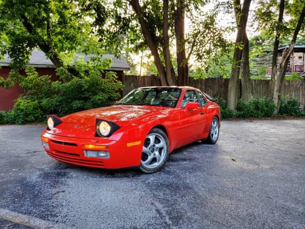 1988 Porsche 944 Turbo S Headlights
