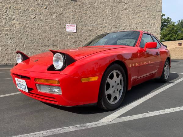 1989 Porsche 944 Turbo Front Headlights