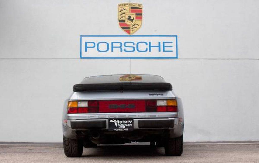 1984 Porsche 944 Rear